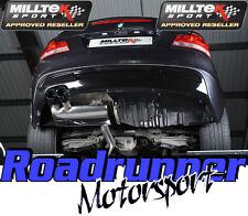 Milltek BMW 135i exhaust secondaire Cat Back Noir Astuces Coupé Cabrio SSXBM948 EC