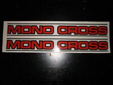VINTAGE YAMAHA YZ 125/250/490 MONO CROSS SWINGARM DECALS