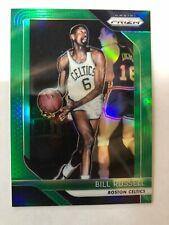 Bill Russell Boston Celtics 2018-19 Prizm Green Prizms #25 **FREE SHIPPING**