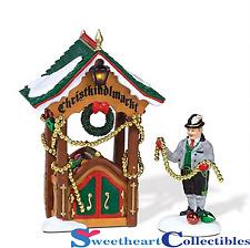 Department 56 Alpine Village Xmas Market Ornament Booth 804441