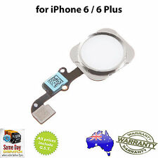for iPHONE 6 / iPhone 6 Plus - Home Button Assemby with Flex Cable - SILVER