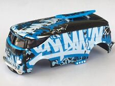 New AW Tom Daniel Volkwagen Bus HO Slot Car Body Fit Auto World 4 Gear Chassis