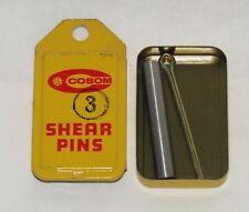 NEW COSOM OUTBOARD ACCESSORIES MARINE BOAT SHEAR PIN PART NO. 3