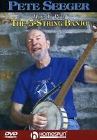 Pete Seeger - How to Play 5-string Banjo [New DVD]