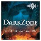 Rotosound DZ10 Saiten Satz E-Gitarre dark Zone RODZ10 - .010 - .060 for sale