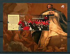 Portugal 2017 MNH Foundation Order of Dominicans 800th Anniv 1v M/S Stamps