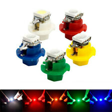 50Pcs T5 B8.4D 5050 1SMD LED Dash Indicator Gauge Dash Side Light Bulb 5 Colors
