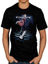 Oficial Para Hombre Europa Guerra De Reyes Camiseta Rock The Final Countdown Saco De Huesos