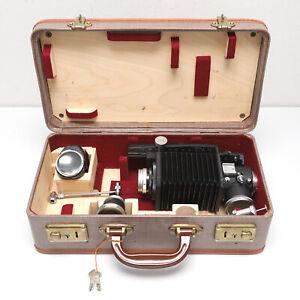 Leica Leitz Wetzlar Visoflex I Set mit Elmar 1:4 / 135mm und Zubehör im Koffer