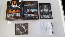 Jet Fighter jetfighter 3 III Simulateur de combat  PC Big Box carton Eurobox FR