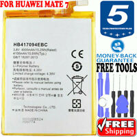 BATTERY FOR Huawei Ascend Mate 7 OEM ORIGINAL QUALITY HB417094EBC 4000mAh + Tool