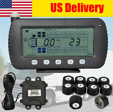 TPMS Tire Pressure Monitoring system Wireless- 10 sensors for RV ,Trailer, Van