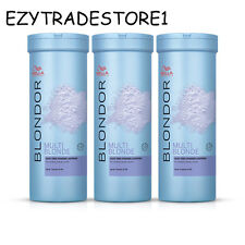 Wella Genuine Blondor Blue Bleach Bleaching Powder 400g Dust (7 Lifts)
