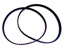 """2 NEW Replacement BELTS for 126XL037 Timing  63 Teeth Cogged  Rubber 12.6"""" Long"""