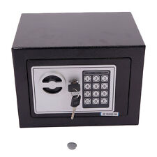 STARK Digital Electronic Safe Box Keypad Lock Home Office Hotel Gun Steel Black