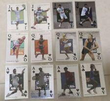 2011 ACE AUTHENTIC ROYAL FLUSH NADAL WOZNIACKI SHARAPOVA FEDERER SET 20 CARD