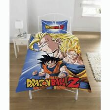 Dragonball Z Battle Single Duvet Cover Reversible Bedding Set