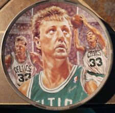 "Larry Bird Boston Celtics Sports Impressions 8 1/2"" Plate #3940"