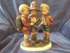 "Goebel M.I. Hummel Figurine ""School Boys"" #170/Iii ""A Difficult Problem"""