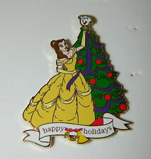 Beauty and the Beast Disney Auctions Da Happy Holidays Belle Pin Le 250
