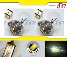 Flosser P26s S3 6000 15W 6V Two Bulbs Headlight Replacement Bike Snowmobile