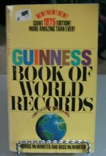 Guinness Book of World Records - 1975 Edition (1975, Paperback)