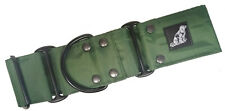 WATERPROOF MARTINGALE DOG COLLAR FOREST GREEN STRONG TOUGH DURABLE STINKPROOF