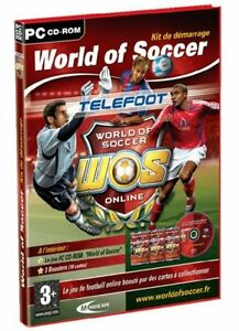 Telefoot World of Soccer -Kit de démarrage (Disquette 3.5) PC  CD ROM - NEUF -