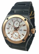 Saphir Mens Formal Watch Black Gold DAY DATE Exclusive Reduced Price RRP £250