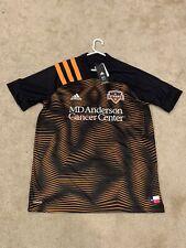 Mens XL Houston Dynamo Adidas Replica Home Soccer Jersey NWT $90