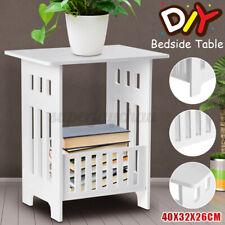 Beistelltisch Nachttisch Wohnzimmertisch Kaffeetisch Telefontisch Weiß Tisch *
