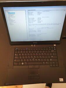 Dell Latitude E6500 Laptop Working
