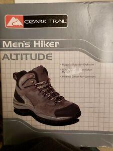 Ozark Trail Mens Hiker Altitude Boots Sz 11