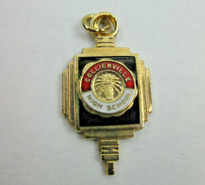 Vintage Collierville High School Honor Key Club Charm