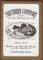 Playing Cards 1 Single Card Old Wide SOUTHERN COMFORT WHISKEY Whisky Advertising
