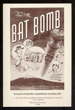 Jack COUFFER / Bat Bomb First Edition 1992