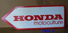 Publicité flèche vintage  motoculture Honda 70's