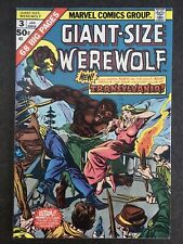 GIANT-SIZE WEREWOLF BY NIGHT #3 1975 ORIGINAL OWNER HIGH GRADE GLOSSY SHARP 🔥🔥
