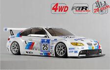 FG Modellsport # 158180R 4 DEO 530 chassis non peint BMW M3 26 ccm RTR