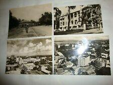 LOT 4 CARTES CONGO BELGE LEOPOLDVILLE STANLEYVILLE +- 1958