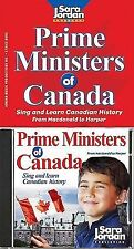 Prime Ministers of Canada - CD/book kit-ExLibrary