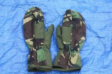 BRITISH ARMY ISSUE  MK3 MITTENS DPM CAMOUFLAGE  SMALL SIZE