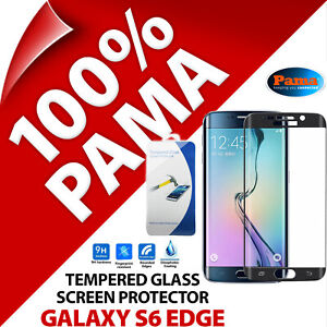 Pama Tempered Glass Screen Protector Guard Film for Samsung Galaxy S6 Edge