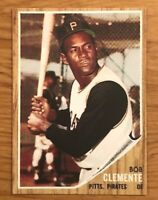 1962 Topps Reprint #10 Roberto Bob Clemente Pittsburgh Pirates Card MINT RP
