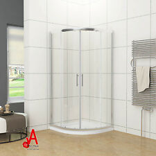 800/900/1000x1900mm Curved Shower Screen Enclosure Cubical 1000x1000x1900mm