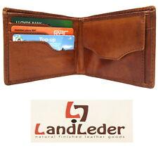 """Landleder Artisan Wallet Real Leather """"Franke's Garage"""" Collection New 1531"""
