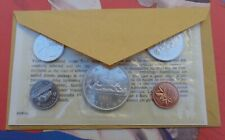 1965 Royal Canadian Mint Uncirculated proof like six coin set sealed