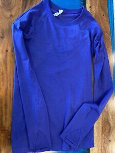 lululemon swiftly tech long sleeve 6 purple EUC