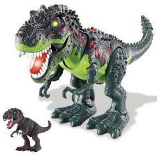Dinosauro T Rex Giocattolo Bambini Camminante con Luci Suoni e Movimenti Corpo