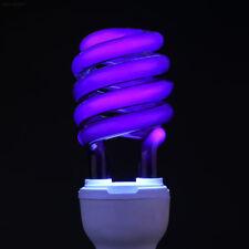 2831 E27 40W UV Ultraviolet Fluorescent Blacklight Light Bulb Lamp CFL Bright^